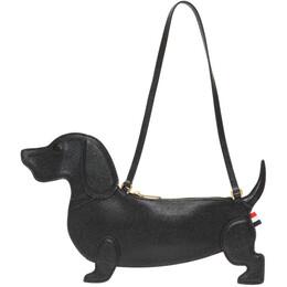 Thom Browne Black Hector Icon Flat Clutch Bag FAP163A-00198