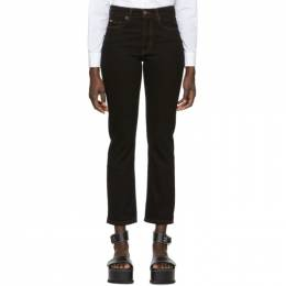Nanushka Black Palm Jeans 191845F06900103GB