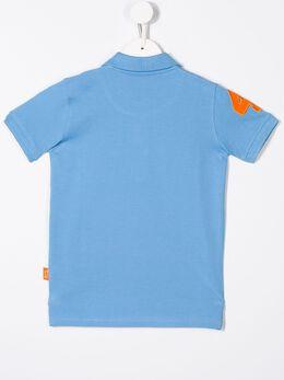 Harmont & Blaine Junior - рубашка-поло с вышитым логотипом JL603935639690000000