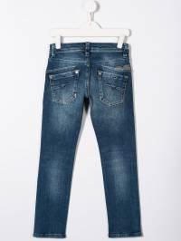 Diesel Kids - джинсы скинни с эффектом 'варенки' 3RQKXA93935355930000