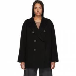 Acne Studios Black Odine Double Coat 191129F05900602GB
