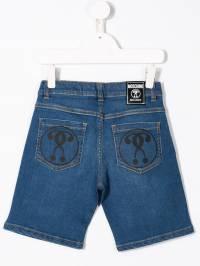 Moschino Kids - джинсовые шорты 60QLXE93935563690000