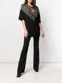 Versace Collection - расклешенные брюки 950G6695999359965000