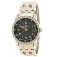 Baume& Mercier Black Stainless Steel Formula 1 Men's Wristwatch 33MM Baume&Mercier 128438