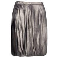 Tory Burch Metallic Pleated Audra Skirt S 125228