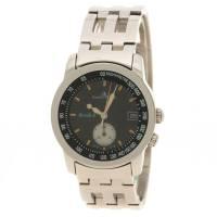 Baume& Mercier Black Stainless Steel Formula 1 Men's Wristwatch 33MM Baume&Mercier 112716