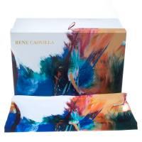 Mahaweb Abstract Design Limited Edition Shoe Box & Dust Bag for Rene Caovilla 159837
