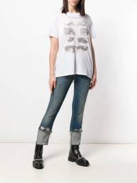R13 - укороченные джинсы с низкой посадкой W5635393936955950000