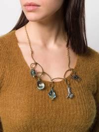 Marni - multi pendants necklace V6666A6R066693606030