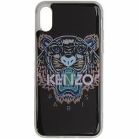 Kenzo Black and Pink Tiger iPhone X/XS Case 191387F03200901GB