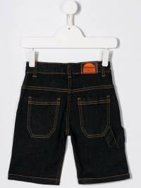 Little Marc Jacobs - джинсовые шорты с контрастной строчкой 996Z3593663639000000