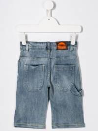 Little Marc Jacobs - выбеленные джинсовые шорты 999Z6593663689000000