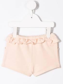 Chloé Kids - шорты со шнурком и оборками 93955B93669660000000