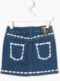 Moschino Kids - джинсовая юбка 69ILXE93935559350000