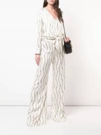 Alexis - расклешенные брюки с узором 86690589093539056000