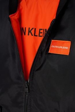 Оранжевая куртка Calvin Klein Kids 2815109025