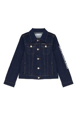 Джинсовая куртка Calvin Klein Kids 2815109037