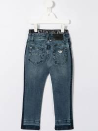 Emporio Armani Kids - джинсы с эластичным поясом J935DFKZ936568950000