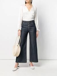 Ulla Johnson - блузка с горловиной на шнурке 96090936585890000000