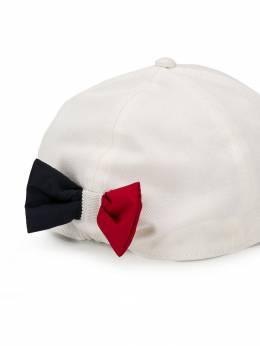 Moncler Kids - бейсбольная кепка с бантом 80656586393639556000