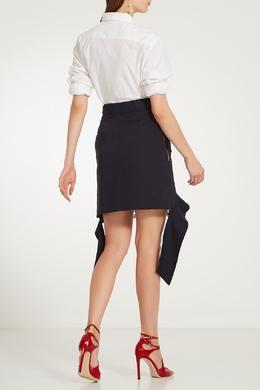 Черная юбка с кружевом Self-portrait 532109834