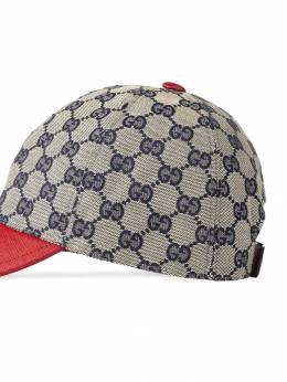 Gucci Kids - кепка с логотипом 'GG' 339KQWW6936895360000