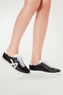 Черно-белые кеды The a Sneaker Aquazzura 975110374