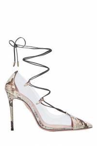 Туфли с прозрачными вставками Magic Pump 105 Aquazzura 975110362