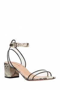 Босоножки с прозрачными вставками Minimalist Sandal 50 Aquazzura 975110363
