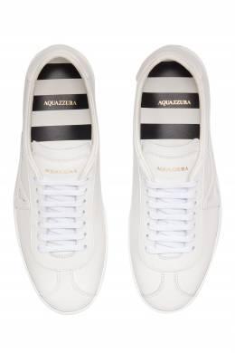 Белые кеды The a Sneaker Aquazzura 975110373