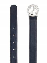 Gucci Kids - Children's leather belt 395A8W6N930083300000