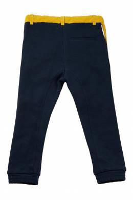 Синие брюки с контрастной вставкой #MumOfSix 2642111023