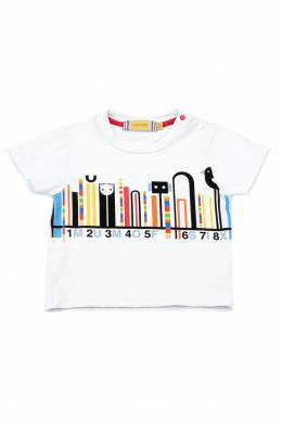 Детская футболка с принтом #MumOfSix 2642111000