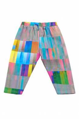 Разноцветные брюки с эластичным поясом #MumOfSix 2642111033