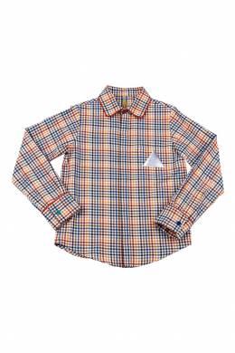Рубашка в разноцветную клетку #MumOfSix 2642110988