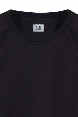 Черный свитшот с линзой на рукаве C.P. Company 1929109629