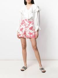 Semicouture - шорты с цветочным принтом S5093365953000000000