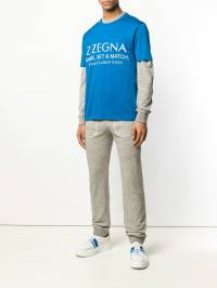 Z Zegna - футболка с нашивкой-логотипом 30ZZ636U935630830000