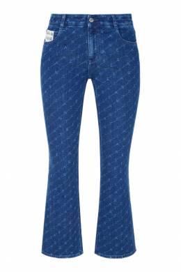 Синие джинсы с узором Stella McCartney 193112481