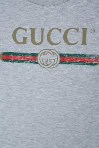Футболка с принтом Gucci Kids 1256112331