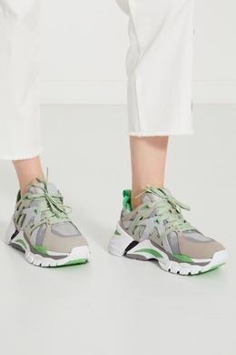 Комбинированные кроссовки FlAsh с логотипом 6112450