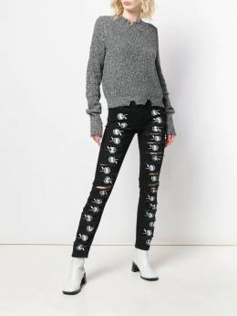 1017 ALYX 9SM - джинсы кроя слим с вышивкой PA6608A6699335905600