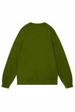 Оливково-зеленый свитшот с линзой C.P. Company 1929109642