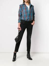 R13 - укороченные джинсы кроя слим WM668633933356990000