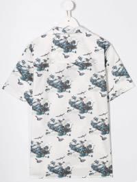 Lanvin Enfant - футболка с принтом 656KD596933580560000
