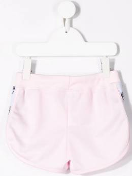 Chiara Ferragni Kids - шорты с полосками S6659386053900000000