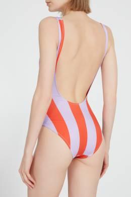 Купальник в полоску Solid And Striped 2851114010