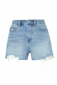 Голубые джинсовые шорты Mo&co 999114346