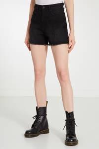 Черные джинсовые шорты Mo&co 999114334