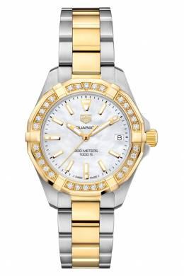 AQUARACER Кварцевые женские часы с белым циферблатом Tag Heuer 2849115464